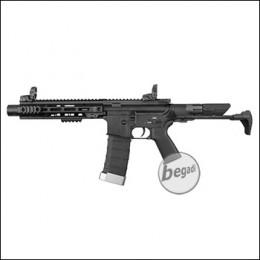 "E&C M4 ""Honey Badger"" PDW S-AEG - Version 2 mit Mamba Motor, Speed Trigger, Silencer & Begadi CORE EFCS / Mosfet (frei ab 18 J.)"
