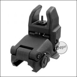 E&C Tactical Nylon FlipUp Front Sight, schwarz