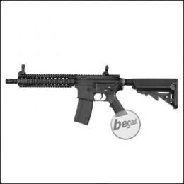 E&C MK18 MOD05 V3 (EFCS, Mosfet, short stroked, ambidex, Speed Trigger) AEG mit Metallgearbox & Burst Modus -schwarz- < 0,5 J.