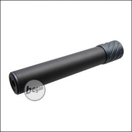Begadi DSL2 Carbon Optik Silencer, mit 14mm CCW Gewinde, 200mm Version -titan-