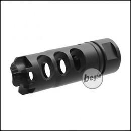 Begadi LSM Flashhider, mit 14mm CCW Gewinde -schwarz-