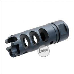 Begadi LSM Flashhider, mit 14mm CCW Gewinde -titan-