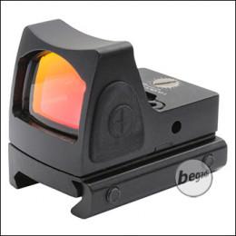 "Begadi Compact Dot ""Style 1"", schwarz (19mm Version)"