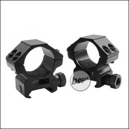 Begadi Alu Montageringe 25,4mm -Low Profile-, 2er Set