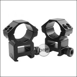 Begadi Alu Montageringe 25,4mm -High Profile-, 2er Set