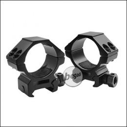 Begadi Alu Montageringe 30mm -Low Profile-, 2er Set