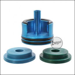 Begadi PRO V2 / V3 CNC Cylinderhead mit zwei O-Ringen und Sorbo Pads (Type2 - 23mm) -blau-