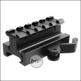 Begadi QD Riser aus Aluminium (Höhe einstellbar) - 65mm