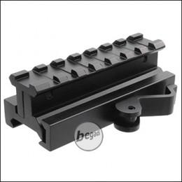 Begadi QD Riser aus Aluminium (Höhe einstellbar) - 85mm