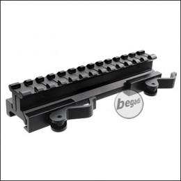 Begadi QD Riser aus Aluminium (Höhe einstellbar) - 145mm