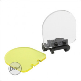Begadi FlipUp Lens Protection / Linsenschutz Set