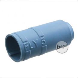 """Begadi PRO 60° """"FLY5 Regular"""" AEG Flat Hop Bucking / Gummi (Air Sealed, für ca. 5mm Lauffenster) -blau-"""