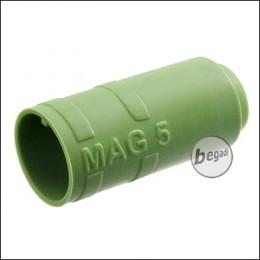 "Begadi PRO 50° ""MAG5"" AEG R-Hop Bucking / Gummi (Air Sealed, für ca. 5mm Lauffenster) -grün-"