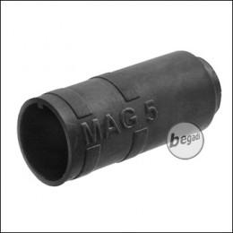 """Begadi PRO 70° """"MAG5"""" AEG R-Hop Bucking / Gummi (Air Sealed, für ca. 5mm Lauffenster) -schwarz-"""