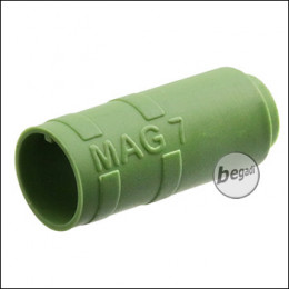 "Begadi PRO 50° ""MAG7"" AEG R-Hop Bucking / Gummi (Air Sealed, für ca. 7mm Lauffenster) -grün-"