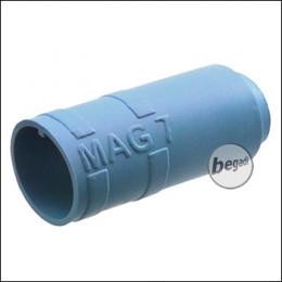 "Begadi PRO 60° ""MAG7"" AEG R-Hop Bucking / Gummi (Air Sealed, für ca. 7mm Lauffenster) -blau-"