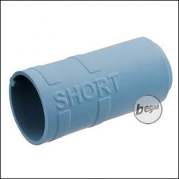 """Begadi PRO 60° """"FLY5 SHORT"""" AEG Flat Hop Bucking / Gummi (Air Sealed, für ca. 5mm Lauffenster) -blau-"""