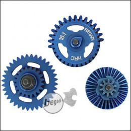 Begadi HRC 16:1 Speed Gearset (gehärtet) - Titanium Blue