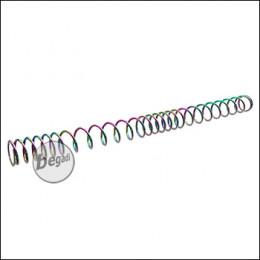 Begadi PRO - M120 - Non Linear S-AEG Tuningfeder, laserbeschriftet & irisierend