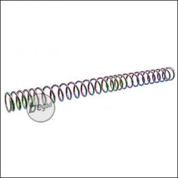 Begadi PRO - M150 - Non Linear S-AEG Tuningfeder, laserbeschriftet & irisierend