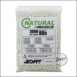 3.000 GEOFFS Natural Precision Bio -TRACER- BBs 6mm 0,28g