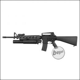 E&C M16 inkl. M203 UGL S-AEG mit Begadi CORE EFCS / Mosfet (frei ab 18 J.)