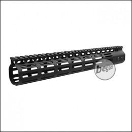 5KU NSR MLOK Handguard 13.5 Zoll / 343mm -schwarz- mit EU Gewinde [5KU-234-13.5]