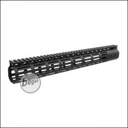 5KU NSR MLOK Handguard 15 Zoll / 383mm -schwarz - mit EU+US Gewinde [5KU-234-15]