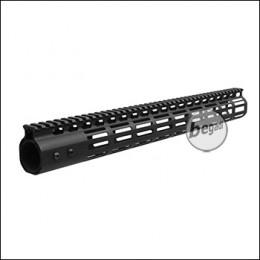 5KU NSR MLOK Handguard 16.7 Zoll / 423mm -schwarz - mit EU+US Gewinde [5KU-234-16.7]