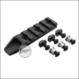 5KU Keymod / MLOK Rail, schwarz -5 Slot Version- [5KU-237]