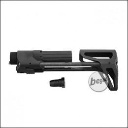 5KU M4 GBB PDW Stock, Gen. 2 -schwarz-