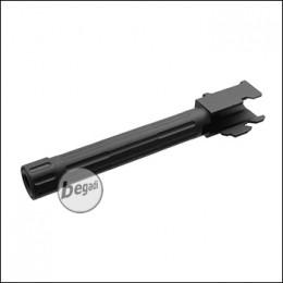 5KU Lightweight Outerbarrel mit Gewinde & Cover für TM / KJW / WE G17 -schwarz- [GB-449-BK]
