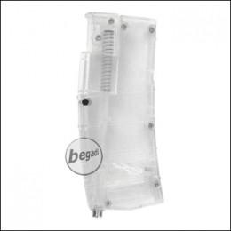 M4 Style Speedloader / Loading Tool für ca. 450 BBs -transparent-