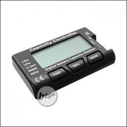 BEGADI Akkutester / Capacity Controller für z.B. LiPo, LiFe & NiMH Akkus