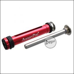 AirsoftPro VSR 90° Lightweight CNC Piston Set inkl. Springguide