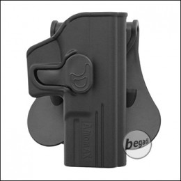 AMOMAX Paddle Hartschalen- Holster für G19 / G23 / G32 + ICS BLE etc.  [AM-G19G2]