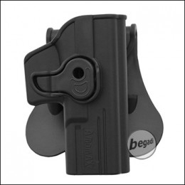 AMOMAX Paddle Hartschalen- Holster für TM / WE / KJW G17 Serie  [AM-GAG]