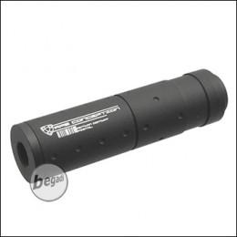 APS ACP Series Silencer, 90mm, mit 14mm- Gewinde, schwarz
