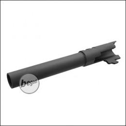 Army Armament M1911 Outer Barrel- schwarz - mit 12mm CCW Gewinde