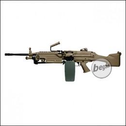 A&K M249 MK2 LMG AEG -TAN- < 0,5 J.
