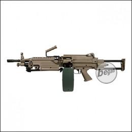 A&K M249 PARA LMG AEG -TAN- < 0,5 J.