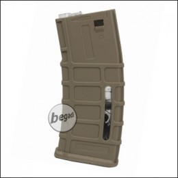A&K MSK / M4 HighCap Magazin (350 BBs) - TAN
