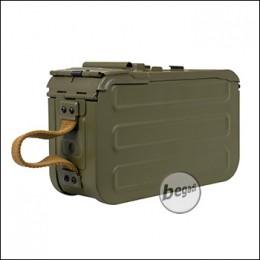 Box Magazin für A&K PKM Serie, 4800 Schuss - olive