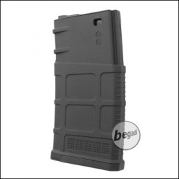 Battleaxe SR25 / K25 Polymer MidCap Magazin (120 BBs) -schwarz-