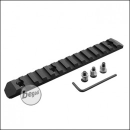 Begadi KeyMod 13 Slot Metall Rail -schwarz-