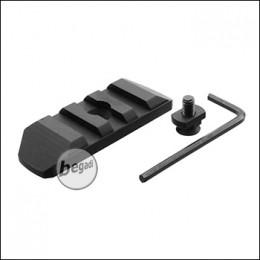 Begadi MLOK 3 Slot Metall Rail -schwarz-