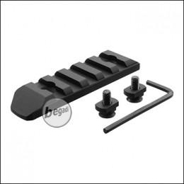 Begadi MLOK 5 Slot Metall Rail -schwarz-