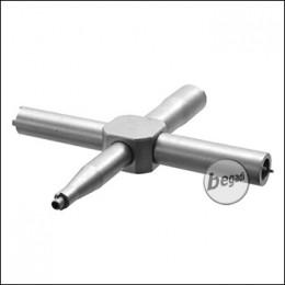 Begadi Advanced Ventilschlüssel mit AR15 Tool