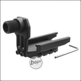 Begadi CM.125 AEP 14mm CCW Silencer Adapter -schwarz-