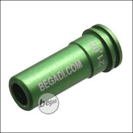 Begadi PRO CNC Nozzle aus 7075 Aluminium mit Doppel O-Ring -21.00mm-